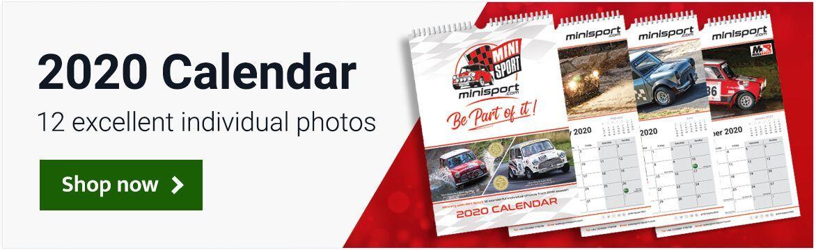 Mini Sport 2020 Calendar