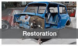 Mini Restoration at Mini Sport